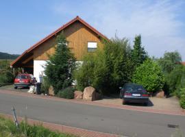 Ferienwohnung Weilerbach, Weilerbach (Wolfstein yakınında)