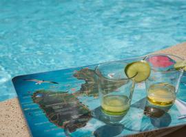 Charmante Villa avec piscine pour couples / Familles, Free Wifi, Montalègre