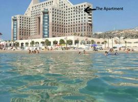 Beautiful Apartment on The Beach, Хайфа (рядом с городом Kefar Shamir)