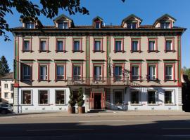 Hotel Landhaus Säntis Herisau, Herisau (Hundwil yakınında)