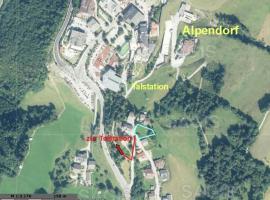 Apartment Penthouse An Der Piste 5 Alpendorf, Alpendorf (Niederuntersberg yakınında)