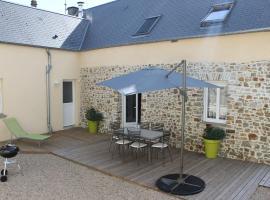 Holiday home La Cotentine, Créances (рядом с городом Pirou)