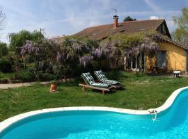 Holiday home Domaine A Marmande 2, Berdoues (рядом с городом Saint-Michel-Saint-Jaymes)
