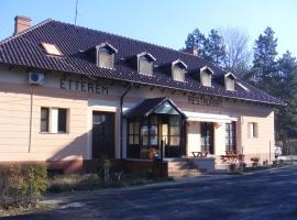 Fenyő Panzió és Étterem, Ásotthalom (рядом с городом Átokháza)