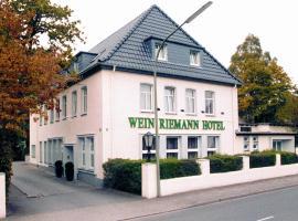 Hotel Riemann garni, Osnabrück (Wallenhorst yakınında)