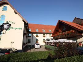 Hotel Bürgerhof, Hohenstein-Ernstthal