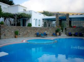 Aiolos Hotel, Ménites (рядом с городом Pitrofós)