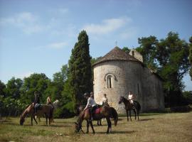Relais du Haget, Cravencères (рядом с городом Bourrouillan)