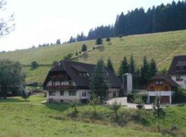 Ferienwohnung Armbruster, Sankt Georgen im Schwarzwald (Hagzinken yakınında)