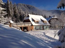 La Lince Lodge, Camporosso in Valcanale (Montesanto di Lussari yakınında)