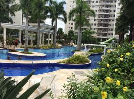 Ap. Resort Recreio dos Bandeirantes, Rio de Janeiro (Restinga de Itapeba yakınında)
