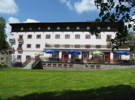 Hotel Mánes, Svratka
