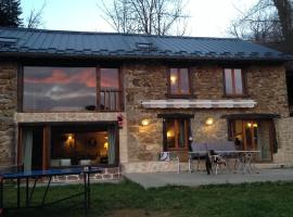 Gîte La Grange, Massat (рядом с городом Biert)