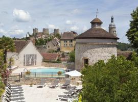 Logis Grand Hotel Montespan-Talleyrand, Bourbon-l'Archambault (рядом с городом Briette)