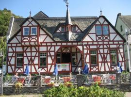 Cafe-Konditorei-Pension Sander, Niederfell (Lehmen yakınında)