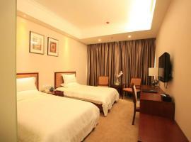 GreenTree Inn Beijing Daxing Lucheng Express Hotel, Daxing (Lucheng yakınında)