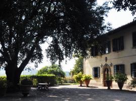 Villa Il Leccio, Strada
