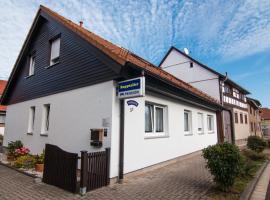 Pension-Rappteller, Apfelstädt (Wachsenburg yakınında)