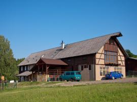 Penzion U Větrné víly, Křižany (Jablonné v Podještědí yakınında)