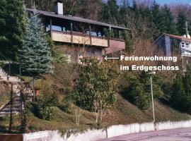 Ferienwohnung Unterschütz, Ettenheim (Schmieheim yakınında)