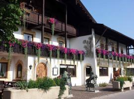 Erlebnislandgasthof Hotel Neiderhell, Kleinholzhausen (Bad Feilnbach yakınında)