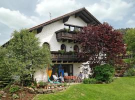 Ferienwohnung Lorenz, Haibach (Mitterfels yakınında)
