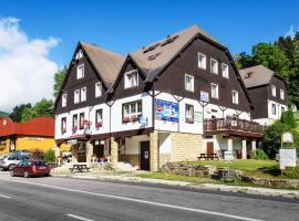 Hotel Hela, Pec pod Sněžkou (Velká Úpa yakınında)