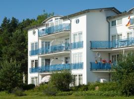 """Ferienwohnung """"Bellevue"""" in Sellin auf Rügen, Ostseebad Sellin (Sellin yakınında)"""