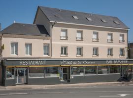 Logis de la Barque, Beaumont-sur-Sarthe (рядом с городом Maresché)