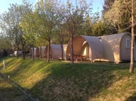 Camping Panorama del Chianti, Certaldo (Marcialla yakınında)