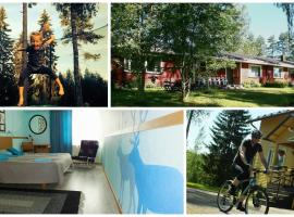 Riihivalkea Holiday Center, Кити (рядом с городом Valkeavaara)