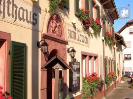 Hotel Restaurant Löwen, Schopfheim (Maulburg yakınında)