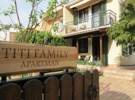 Titi Family Apartman, Бюк (рядом с городом Répcelak)