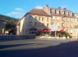 Relais Lorraine Alsace Pere & Fils, Raon-l'Étape (рядом с городом Баккара)