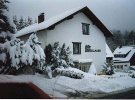 Ferienwohnungen Hellmann, Bad Grund (Wildemann yakınında)