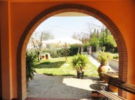 La villa al Poggio, Peccioli (Molino Mazzetti yakınında)