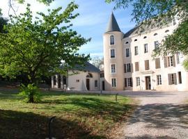Gîtes Chateau Bel Aspect, Salles-sur-l'Hers (рядом с городом Сен-Мишель-де-Ланес)