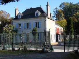 B&B-Chambre d'Hôtes La Closerie Saint Vincent, Pocé-sur-Cisse (рядом с городом Сент-Уан-ле-Винь)