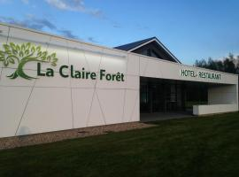 Hotel - Restaurant La Claire Forêt, Morhange