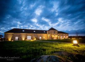 Chambres d'hôtes Nomade-Lodge, La Chapelle-Gauthier (рядом с городом Fontains)