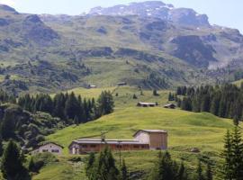 Hof Salis - Tges'Alva, Bivio (Cresta yakınında)
