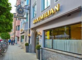 Hotel Maximilian - Stadthaus Penz, Innsbruck