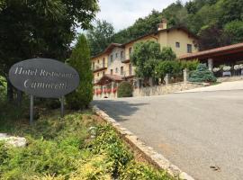 Hotel Camoretti, Almenno San Bartolomeo (Roncola yakınında)