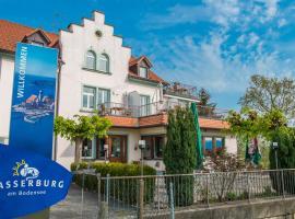 See-Hostel Wasserburg am Bodensee, Wasserburg (Bettnau yakınında)