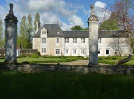 LOGIS du Château du Bois Doucet, Bignoux (рядом с городом La Chapelle-Moulière)