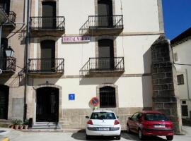 Hostal Martin, Баньос-де-Монтемайор (рядом с городом Ла-Гарганта)