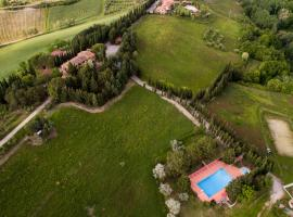 Agriturismo il Poggio, Montaione (Sughera yakınında)