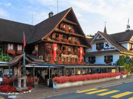 Swiss-Chalet Lodge - Swiss-Chalet Merlischachen, Merlischachen