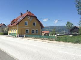 Ferienwohnungen Grün, Preitenegg (Hintertheissenegg yakınında)