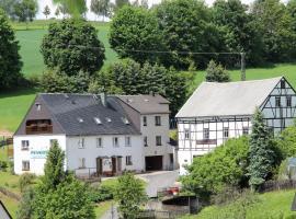 Pension Sonnenhof, Wolkenstein (Drebach yakınında)